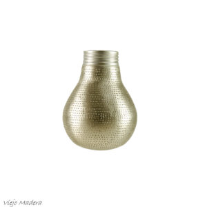 Hanglamp Zenza big little pear zilver